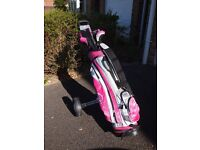 Set of Ladies PureSpin Golf Clubs