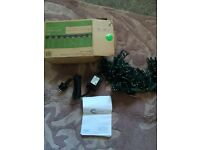 280 led worm white green cable outdoor l;25m .24v. 2x30w max , spark light led, brand new in box
