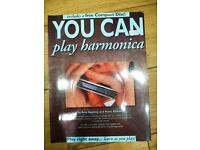 Harmonica music book with CD
