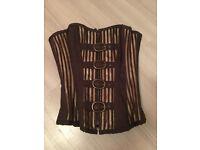 Brand New Steampunk 22 inch corset