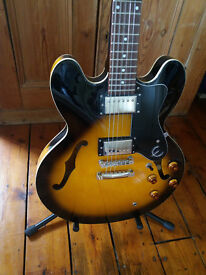 Epiphone DOT Semi-Hollowbody Electric Guitar (Vintage Sunburst)