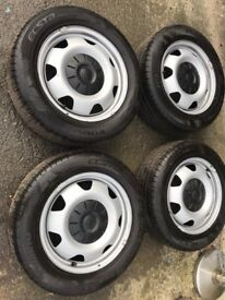 """VW Transporter T5/6 17"""" wheels and tyres"""