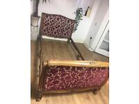 FRENCH SINGLE BED FREE DELIVERY GENUINE ANTIQUE