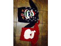Boys Christmas jumpers