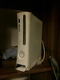 Xbox 360 little crack on bottom but works perfectly