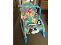 Baby / toddler rocker, vibrating chair