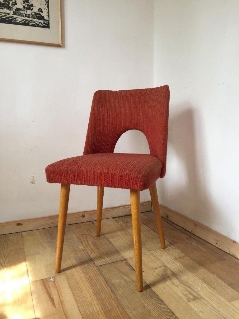 vintage 60s furniture. Gondola Seat Original Vintage Polish 60s CHAIRS Quirky Furniture Retro Vintage Furniture H
