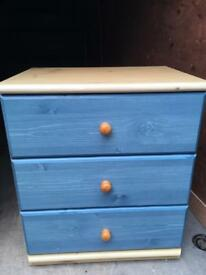 Blue Chest Of Draws