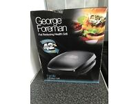 George Foreman Family Grill brand new, boxed,