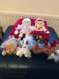 A set of 6 'Chilly and Friends' soft toys