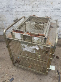 Security Portable Site Cage / Trolley / Roll Cage / Moving Storage