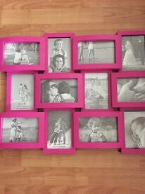 10 PINK Pictures Frames