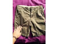 H & M men's shorts - new-unused 100% cotton
