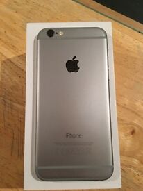 iPhone 6 16gb space grey unlocked