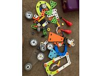 Tony hawks circuit board and junior meccano set