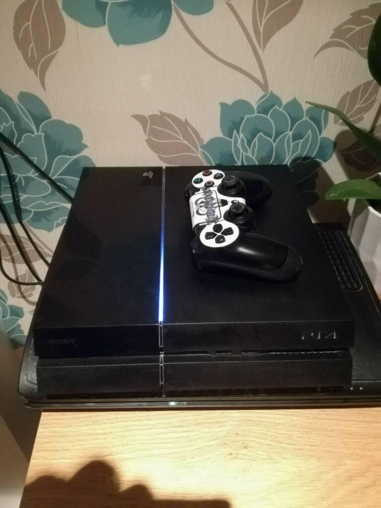 PS4 Black 500GB Console