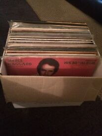Vinyl LPs various- mainly country/Scottish
