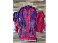 Girls Pakistani/Asian dress age 11-12 yrs