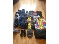 Amazing bundle of boy's 8-10 clothes Penquin, Van's, Lego, Nintendo, Minecraft, Sega