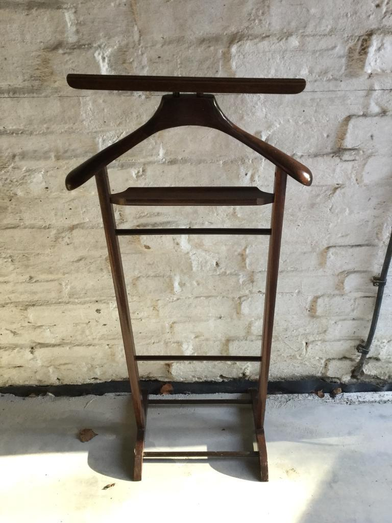 Clothes Horse In Dark Wood