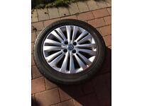 """4 x Corsa 2011 16"""" alloy wheels tyres"""