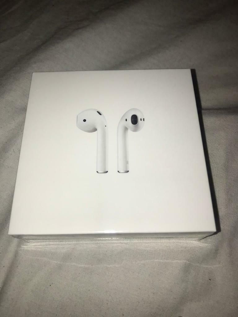 47b9cb03eea Apple AirPods 2nd Generation with Wireless Charging Case Brand New