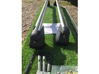 Genuine ford aero roof bars for ford smax without glass roof