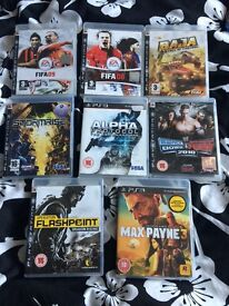 PS3 games etc