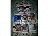 Pop Figures all boxes never opened new