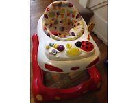Graco musical baby walker