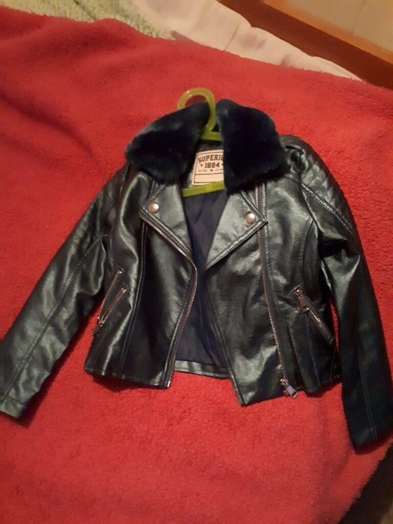 735cc260a Girls jacket Age 7-8