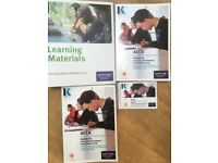 ACCA P5 Kaplan text book and study kid