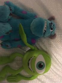 Talking Mike and Sully