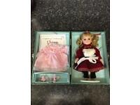Victoria collectables doll + case