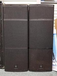 "Dual 15"" EV ELX 215 Speakers"