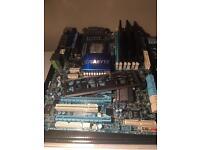 Six Core E5645 OC 4.2ghzs + Gigabyte GA-X58A-UD3R Mobo + 10GB Corsair Ram