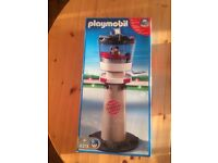 Playmobil air control tower - boxed in excellent condition