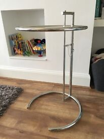 Eileen Grey Glass side table - Quality Reproduction