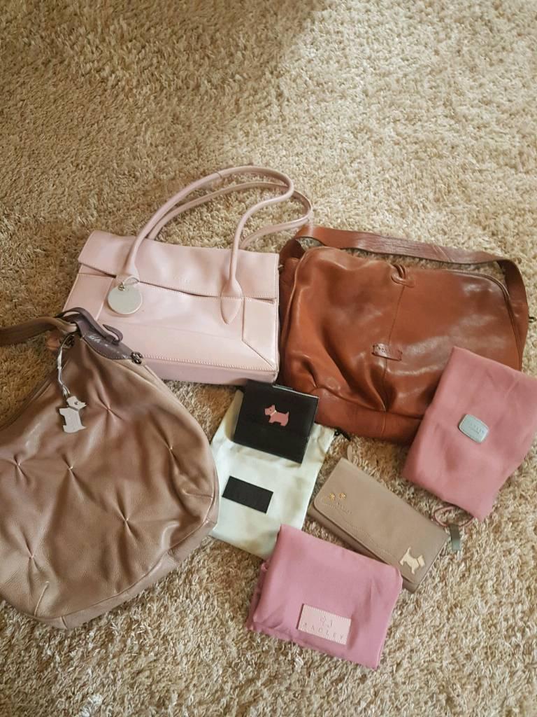 Genuine radley bags and purse