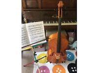 Half size cello,