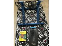 Tacx turbo trainer, wheel block and spin/cycling DVD