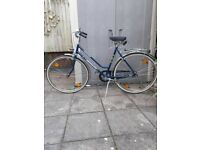 dutch city bike for medium adult
