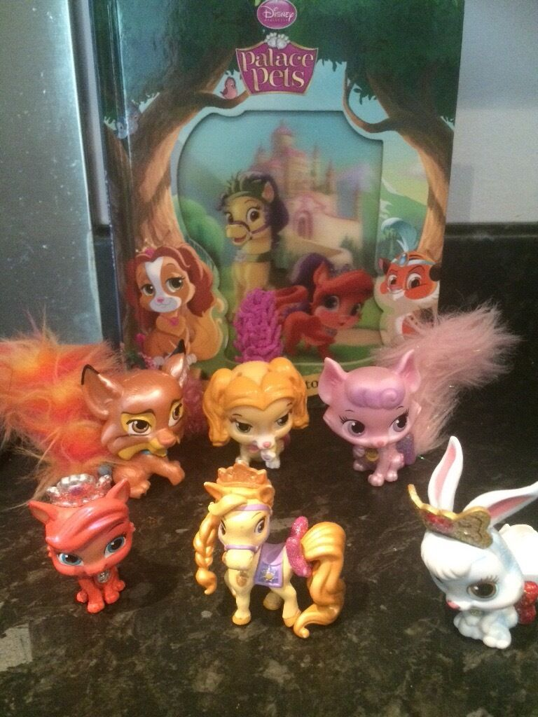 6 Disney Princess Palace Pets and bookin Woodthorpe, NottinghamshireGumtree - All items in great condition. 3 large Palace Pets one with changeable tail. None have head piece. 3 small Palace Pets 1 Book Palace Pets Magical Story