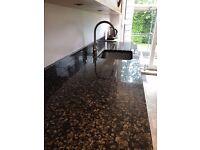 3x Beautiful Granite Worktops