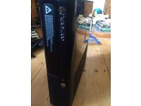 xbox 360 E latest model good condition with a modded controller and a lot of games