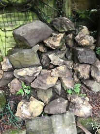Rockery stones assorted sizes