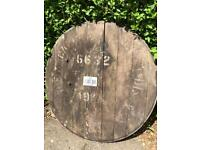 MacAllan whisky cask end from 1988