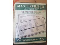 Amstrad Masterfile III floppy disc