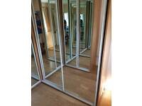 Mirror fronted stunning fitted Wardrobes