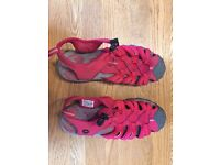 Karrimor Walking Sandals, Women's, Red, Size 5, never used
